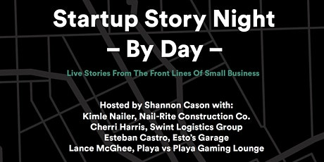 Startup Story Night: By Day! A Part of In Good Co. Live 2020 tickets