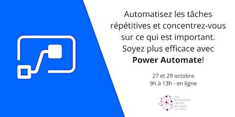 Webinaire Power Automate billets