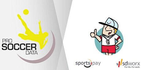 Infosessie integratie ProSoccerData & SportsPay tickets