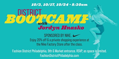 District Bootcamp at Fashion District tickets