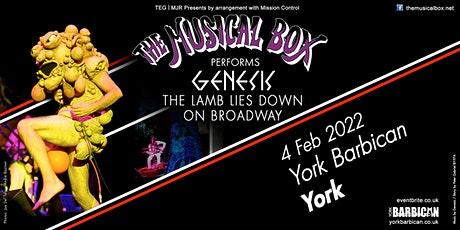 The Musical Box 2021 (Barbican, York) tickets
