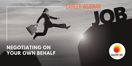 Career Webinar: Negotiating on your own behalf tickets