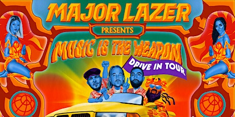Major Lazer @ Charlotte Motor Speedway Drive-In tickets