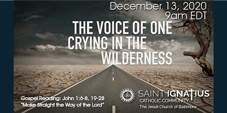 Sunday Mass - December 13, 2020 tickets