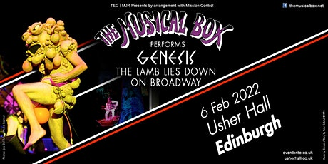 The Musical Box 2021 (Usher Hall, Edinburgh) tickets
