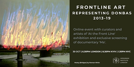 Frontline Art. Representing Donbas 2013-19 tickets