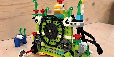 Bouw je eigen LEGO robot!