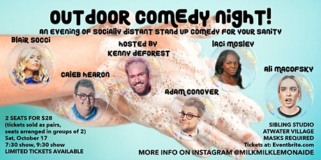Outdoor Comedy Night! 7:30 Show tickets