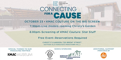 Connecting for a Cause: KMAC Couture on the Big Screen tickets