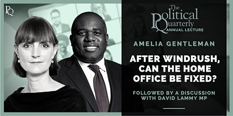 'After Windrush, can the Home Office be Fixed?' Amelia Gentleman + guests tickets
