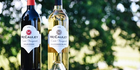 McCauley Estate Vineyards Wine Tasting and Live Music tickets