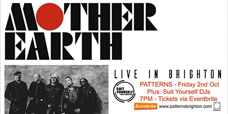 MOTHER EARTH - Live in BRIGHTON tickets