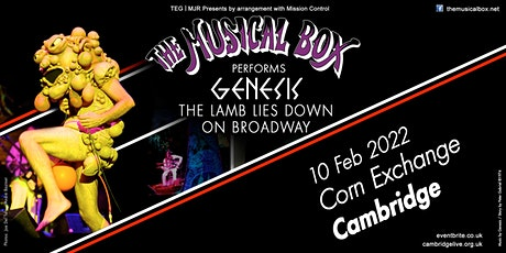 The Musical Box 2021 (Corn Exchange, Cambridge) tickets