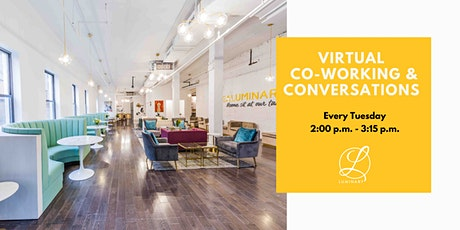 Virtual Co-Working & Conversations tickets
