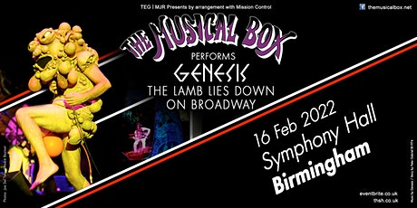 The Musical Box 2021 (Symphony Hall, Birmingham) tickets