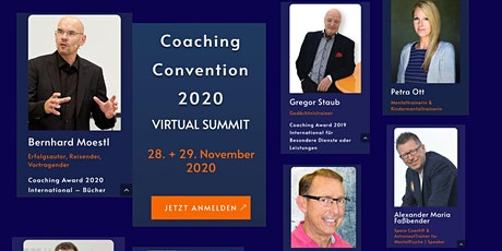 Coaching Convention 2020 / Verleihung Coaching Award Tickets