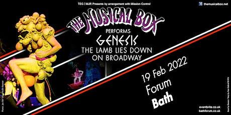 The Musical Box 2021 (The Forum, Bath) tickets