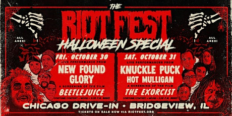 The Riot Fest Halloween Special: 2-Day Pass tickets
