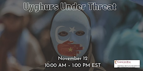 Uyghur Under Threat tickets