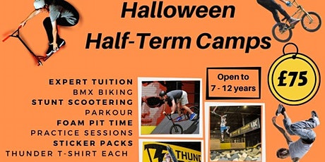 Thunder Park - Halloween Camp 27th - 30th Oct tickets