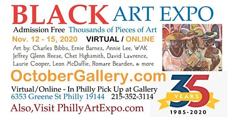 Black Art Conference at Art Expo 2020 - FREE tickets