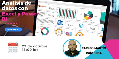 Análisis de datos con Power Bi y Excel boletos