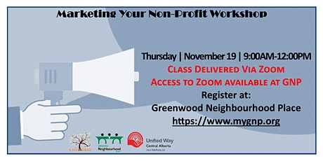 Marketing Your Non-Profit Workshop tickets