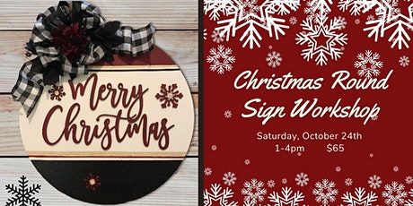 Merry Christmas Sign Workshop tickets
