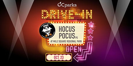 OC Parks Drive-In: Hocus Pocus tickets