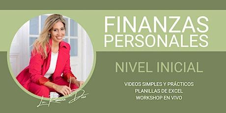 Curso de Finanzas Personales - Nivel Inicial entradas