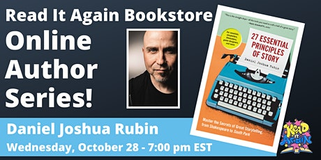 An Online Conversation with Daniel Joshua Rubin tickets