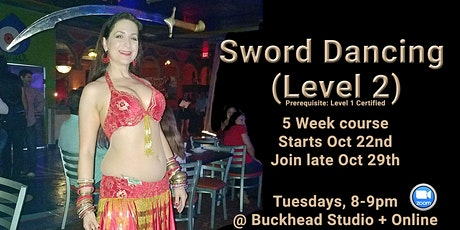 Join late Sword Dancing - Level 2 tickets