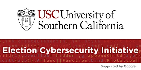 Election Security: Lessons from USC workshops with leaders in all 50 States tickets