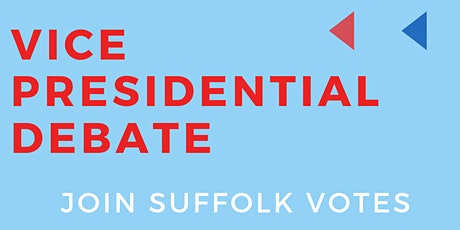 SuffolkVotes Vice Presidential Debate Watch Party tickets