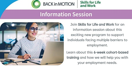 Skills for Life & Work Information Session tickets