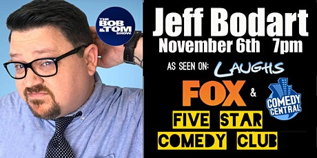 Jeff Bodart Comedy! tickets