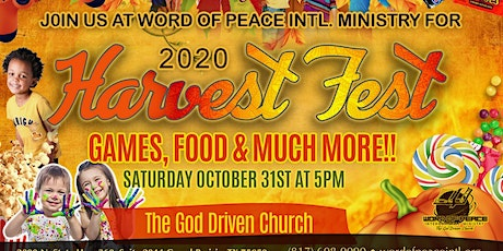 WOP Annual Harvest Fest! tickets
