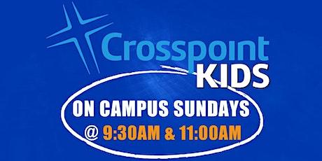 Crosspoint Kids on Campus Sundays  (10/25 @11:00) tickets