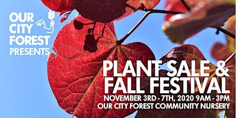 Fall Plant Sale Week! tickets