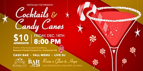 Cocktails and Candy Canes tickets