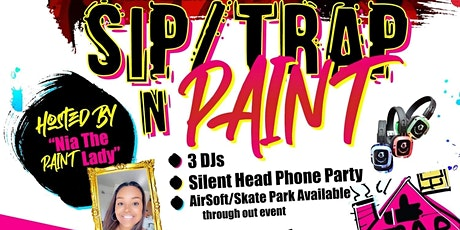 Silent Sip'n Paint Party tickets