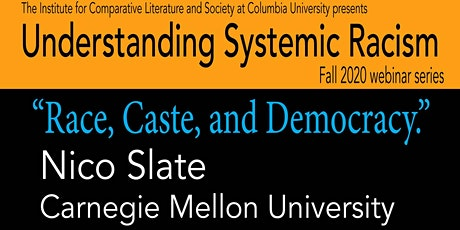 Understanding Systemic Racism with Nico Slate tickets