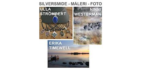 OBS!Utställning uppskjuten! Ulla Strömbert- Erika Timewell- Ninni Westerman tickets