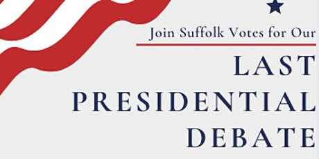 SuffolkVotes Presidential Debate #3 Watch Party tickets