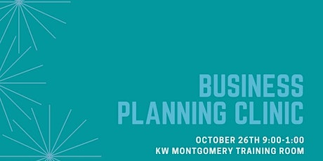 October Business Planning Clinic tickets