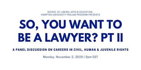 So, You Want to Be a Lawyer ? Part II tickets