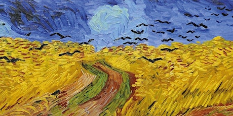 Learn how to paint Wheatfields with Crows - Vincent Van Gogh tickets
