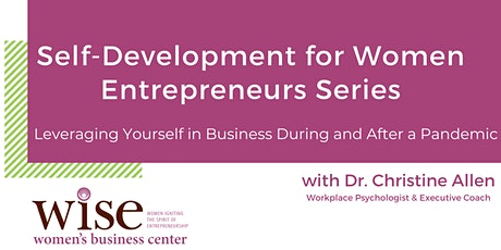 Self-Development for Women Entrepreneurs: Leading an Effective Virtual Team tickets