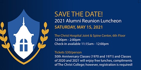 The Christ College 2021 Alumni Reunion Luncheon tickets