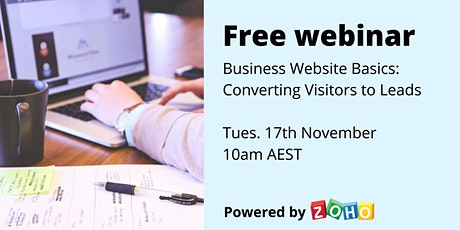 Educational webinar: Converting Visitors to Leads Tickets